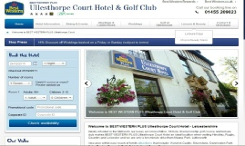 Click For Link To Ullesthorpe Court Hotel & Golf Club Website