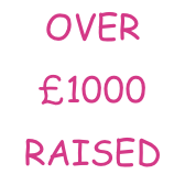 OVER £1000 RAISED